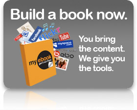 Build a book now. You bring the content. We give you the tools.